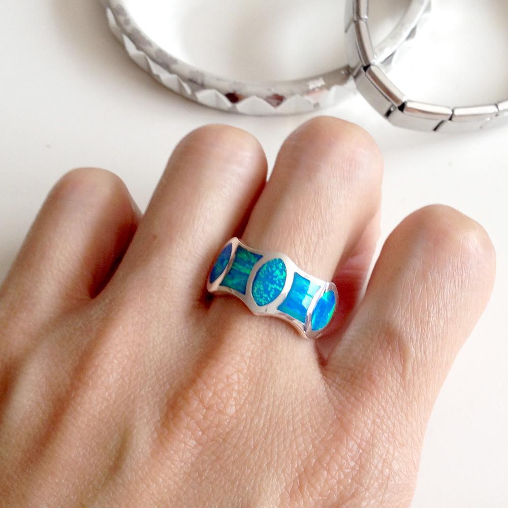 mens opal rings